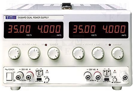 Aim-TTi EX354RD Digital Bench Power Supply, 2 Output 0 → 35V 0 → 4A 280W