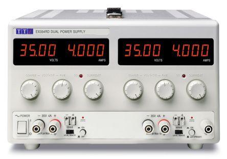 Aim-TTi EX354RD Digital Bench Power Supply, 2 Output 0 → 35V 0 → 4A 280W