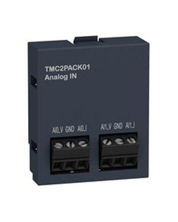 Schneider Electric Modicon M221 PLC I/O Module 2 (Input) Inputs 0 → 10 V, 35 x 15 x 41 mm