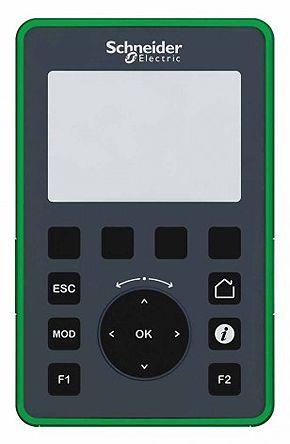 Schneider Electric Modicon M221 Backlit STN LCD HMI Panel, 1 port, 5 V dc Supply, 80 x 63 x 126 mm