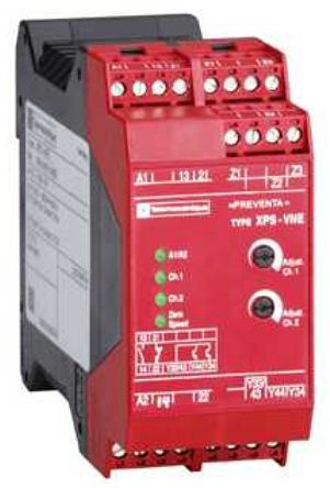 Preventa XPS VN Safety Contactor, Dual Channel, 115 V ac, 2 Safety, 2 Auxiliary