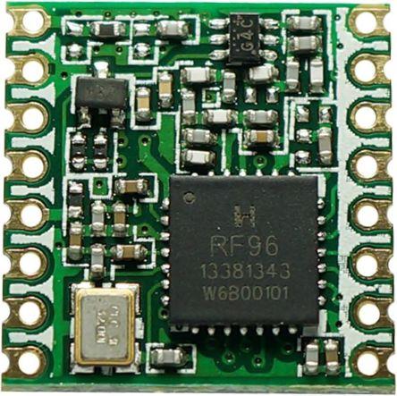 RF Solutions RFM95W-868S2 RF Transceiver Module 868 MHz, 3.3V