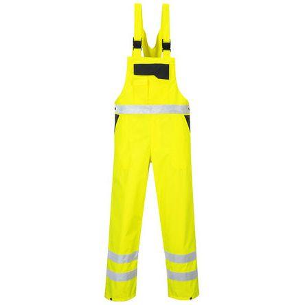 Unisex Navy/Yellow Bib & Brace, M product photo