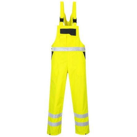 Unisex Navy/Yellow Bib & Brace, XL product photo