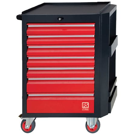 RS PRO 240 Piece Maintenance Trolley Tool Kit