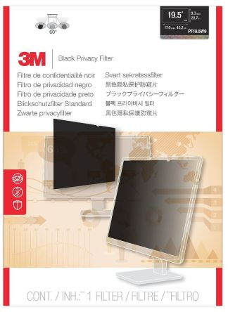 Privacy Filter Widescreen Monitor 19.5""