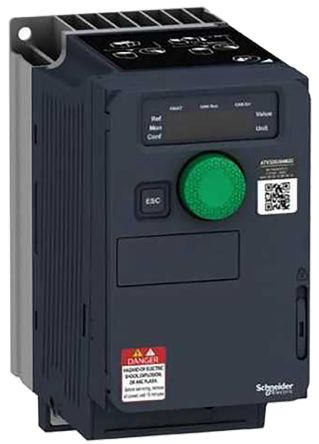 Schneider Electric Variable Speed Drive, 3-Phase In, 0 1 → 599Hz Out 0 75  kW, 400 V ac with EMC Filter