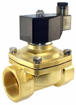 550020dis parker solenoid valve 550020dis 2 port nc 24 v dc 1 rh uk rs online com Cummins Fuel Shut Off Solenoid Wiring Diagram Gas Solenoid Valve Wiring Diagram