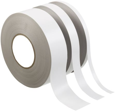 White Double Sided Paper Tape, 9mm x 50m product photo