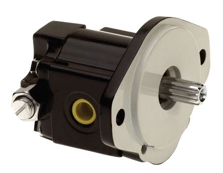 Hydraulic Gear Pump, 1/8 Shaft, 23cc/rev
