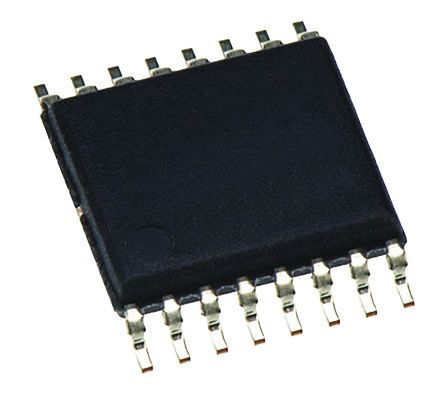 Cypress Semiconductor CY22050 CY22050KFI, 7 PLL Clock Synthesizer, 0.08 → 166.6 MHz, 16-Pin TSSOP