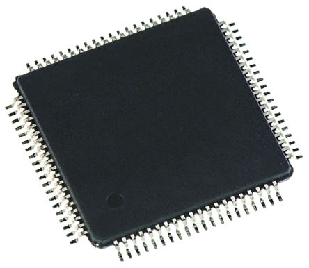 Renesas Electronics R5F100MLDFA#V0 RL78 Microcontroller, 32MHz, 512 kB Flash, 80-Pin LFQFP