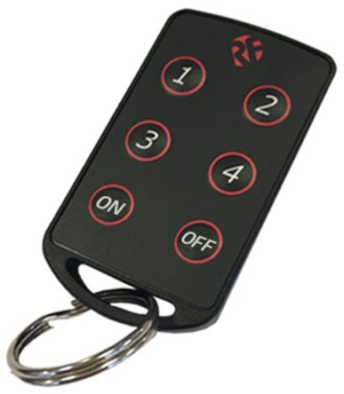 RF Solutions 6 Button Remote Control Fob, FOBBER-8T6, 869.5MHz