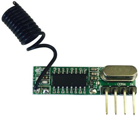 RF Solutions QAM-RX10-433 Module, 5V dc