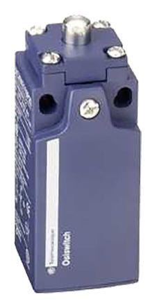 IP65 Snap Action Limit Switch, Spring Return Plunger, Plastic, NO/NC, 240V