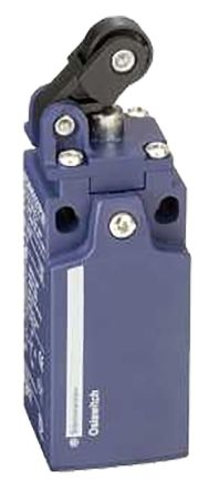 IP65 Snap Action Limit Switch, Spring Return Roller Lever Plunger, Plastic, NO/NC, 240V
