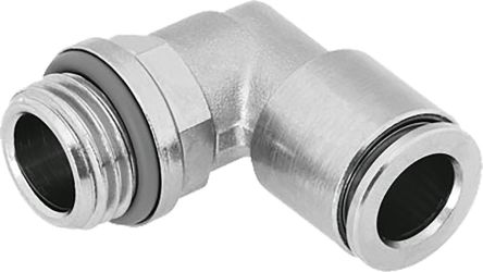 Elbow Connector, G 1/2 Male, Push In 10 mm product photo