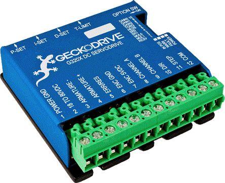 Geckodrive G320X Stepper Motor Controller 20 A, 5V dc, 63 5 x 63 5 x 21mm