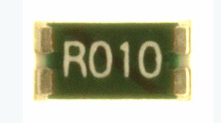 Ohmite LVK12 Series Current Sensing Surface Mount Resistor 1206 Case 10mΩ ±0.5% 0.5W Maximum of +50ppm/°C