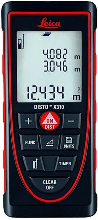 Leica X310 Laser Measure, 120 m Range, ±1 mm Accuracy, With RS Calibration