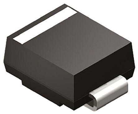 P6SMB8.2CA ESD Suppressors//TVS Diodes 8.2V 600W BiDir, Pack of 100