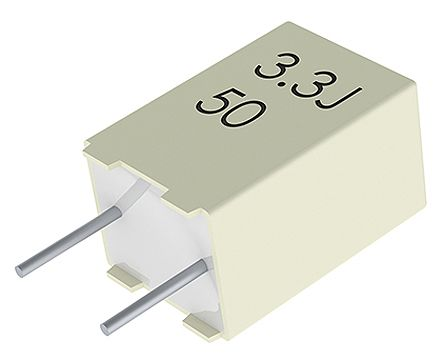 0.1 µF ± 10/% 630 V Polyester PET MKT1813 Series Film Capacitor