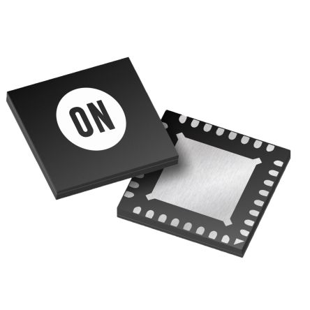 ON Semiconductor NCP81239MNTXG, USB Power Switch, 2.8Ω, 4.5 V min. 32-Pin, QFN