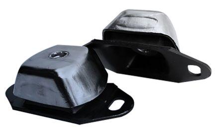 RS PRO Round M16 Zinc Plated Steel Anti-Vibration