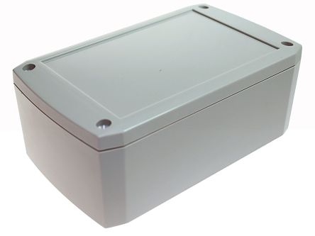 Discreet Ip66 Waterproof Electric Distribution Box 125*175*75mm Plastic Box Connectors