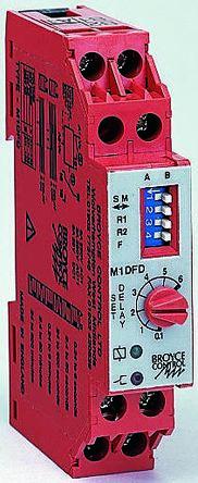 Multi Function Time Delay Relay, 0 24 → 600 s, 24 → 600 min, SPDT, 1  Contacts, SPDT, 24 V ac/dc, 230 V ac