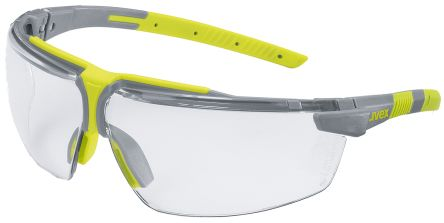 Uvex i-3 Safety Glasses Anti-Mist Laser, Clear +1.0