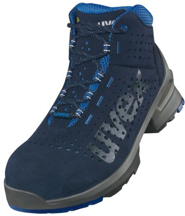 Uvex 1 Unisex's Blue Microvelour ESD Boot UK 5, EUR 38 S1