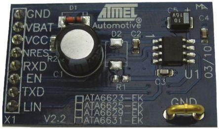 Development Board for ATA6629 LIN system