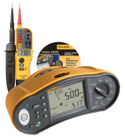 Fluke 1663 UK with T130 and DMS Software