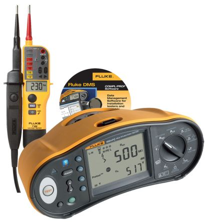 Fluke 1664 UK with T150 and DMS Software