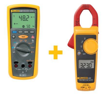 Fluke -1507, Insulation Tester 10GΩ CAT III 600 V, CAT IV 600 V UKAS Calibration