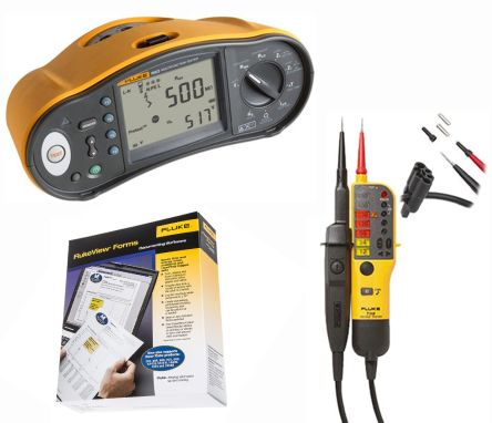 Fluke 1663/F with T130 and DMS Software