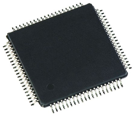 Analog Devices AD7616BSTZ Data Acquisition System IC, 16 (ADC) bit, 1Msps, 120μs, 80-Pin LQFP
