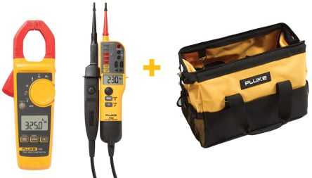 Fluke 325 Clamp Meter, Max Current 400A ac CAT III 600 V, CAT IV 300 V