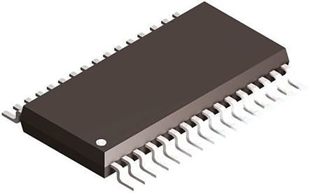 Texas Instruments ADS8668IDBT, 12-bit Serial ADC 8-channel, 38-Pin TSSOP