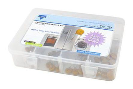 Vishay Ceramic Capacitor Sample Kit 80 pieces