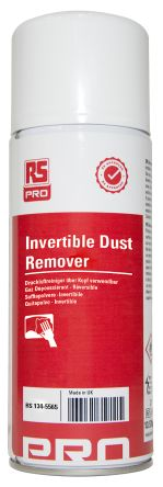 RS PRO Invertible Air Duster, 250 ml, Flammable