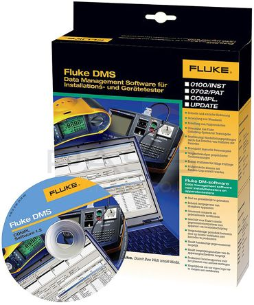 Fluke FLK-DMS COMP Electrical Installation Software, For Use With 1660 Series Multifunction Installation Testers