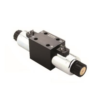 CETOP Mounting Hydraulic Solenoid Actuated Directional Control Valve , D1VW001CNJW, CETOP 3, C, 24V dc product photo