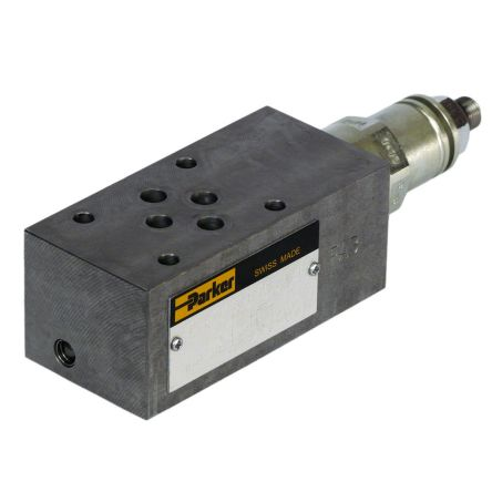 Parker CETOP Mounting Hydraulic Solenoid Actuated Directional Control Valve, ZDV-P01-5-S0-D1, 350 bar