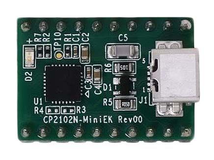 CP2102N USB-UART Mini Evaluation Kit