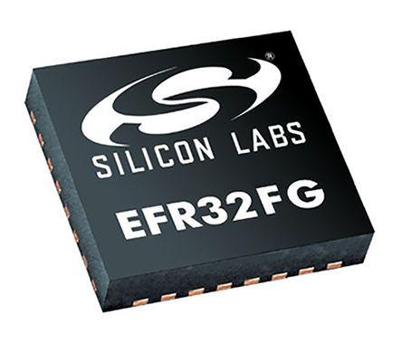 Silicon Labs EFR32FG12P431F1024GM48-B, RF Transceiver