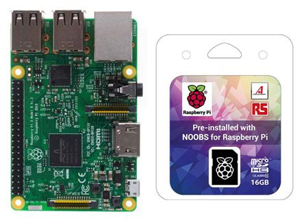 Raspberry Pi 3 and NOOBS 16GB