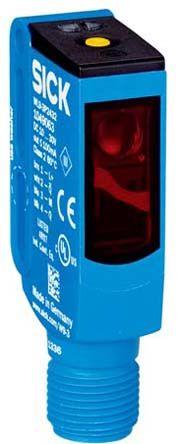Sick Retro-reflective Photoelectric Sensor 0 → 5 m Detection Range PNP IO-Link IP66, IP67, IP69K Block Style