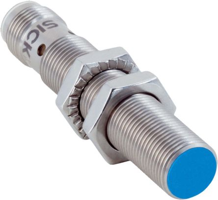 Sick IO-Link PNP Inductive Sensor 3.24 (Sa) mm, 4 (Sn) mm Detection Range, Cylindrical 65mm length, 10 → 30 V dc